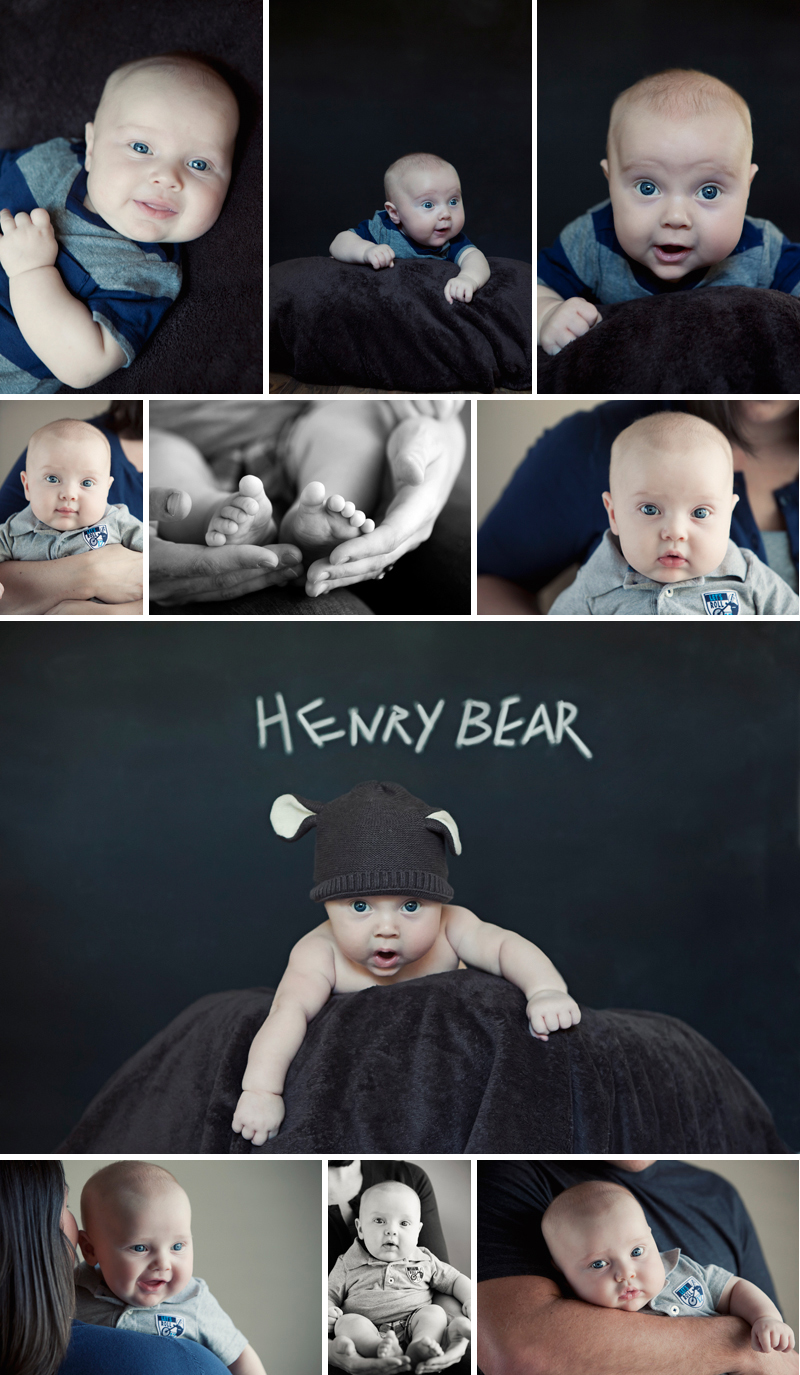 houston baby photographer King 3mo