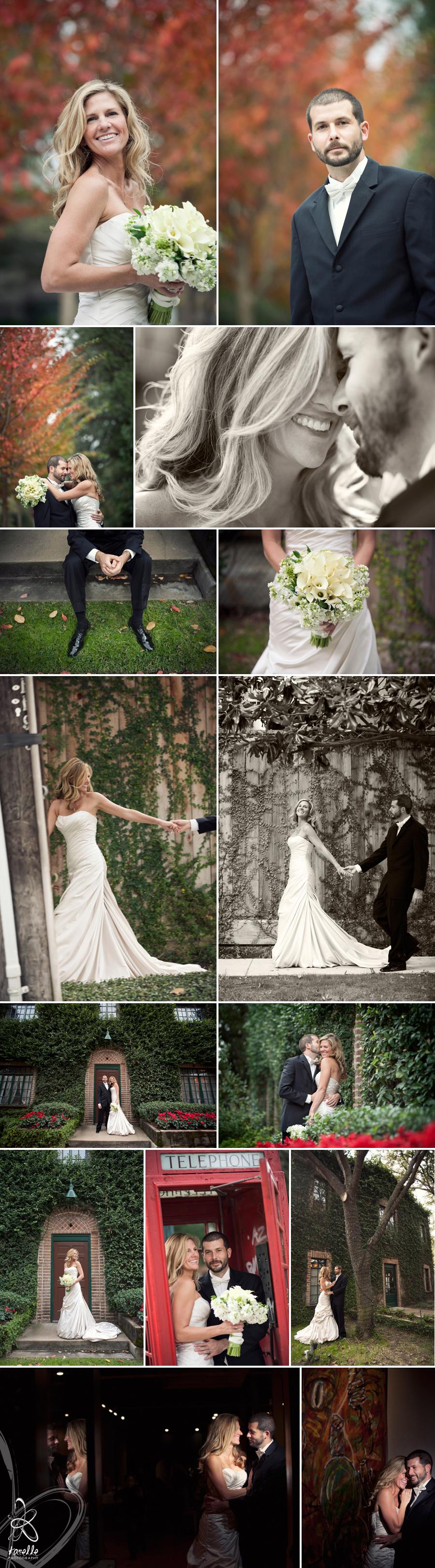 Stephanie and Brian's wedding day, portraits