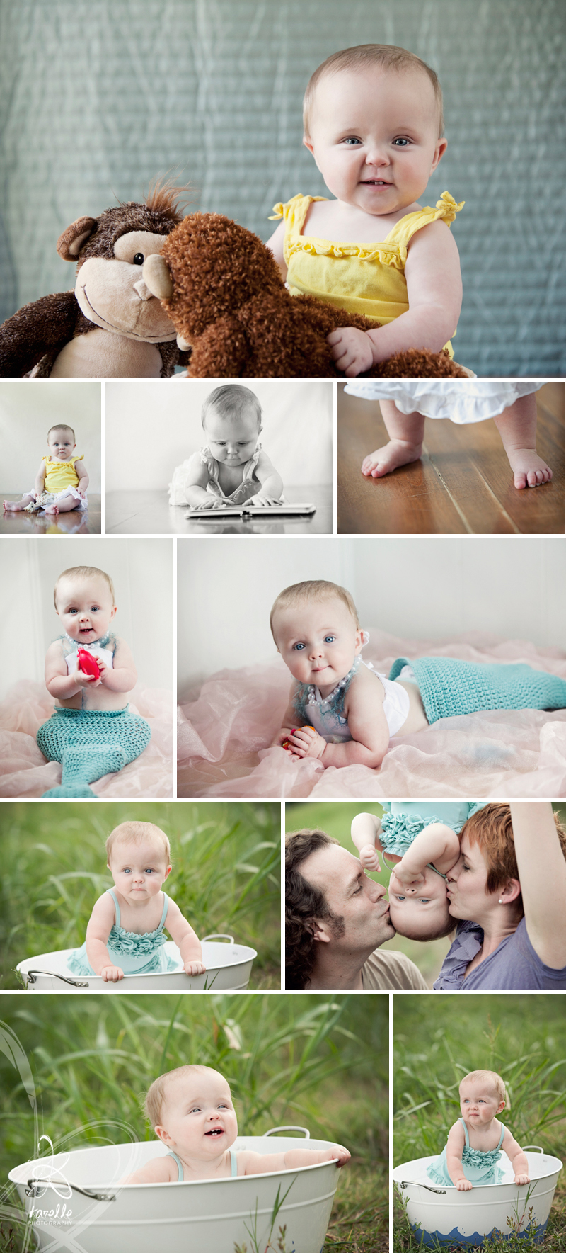 houston baby photographer Carroll 9 month storyboard