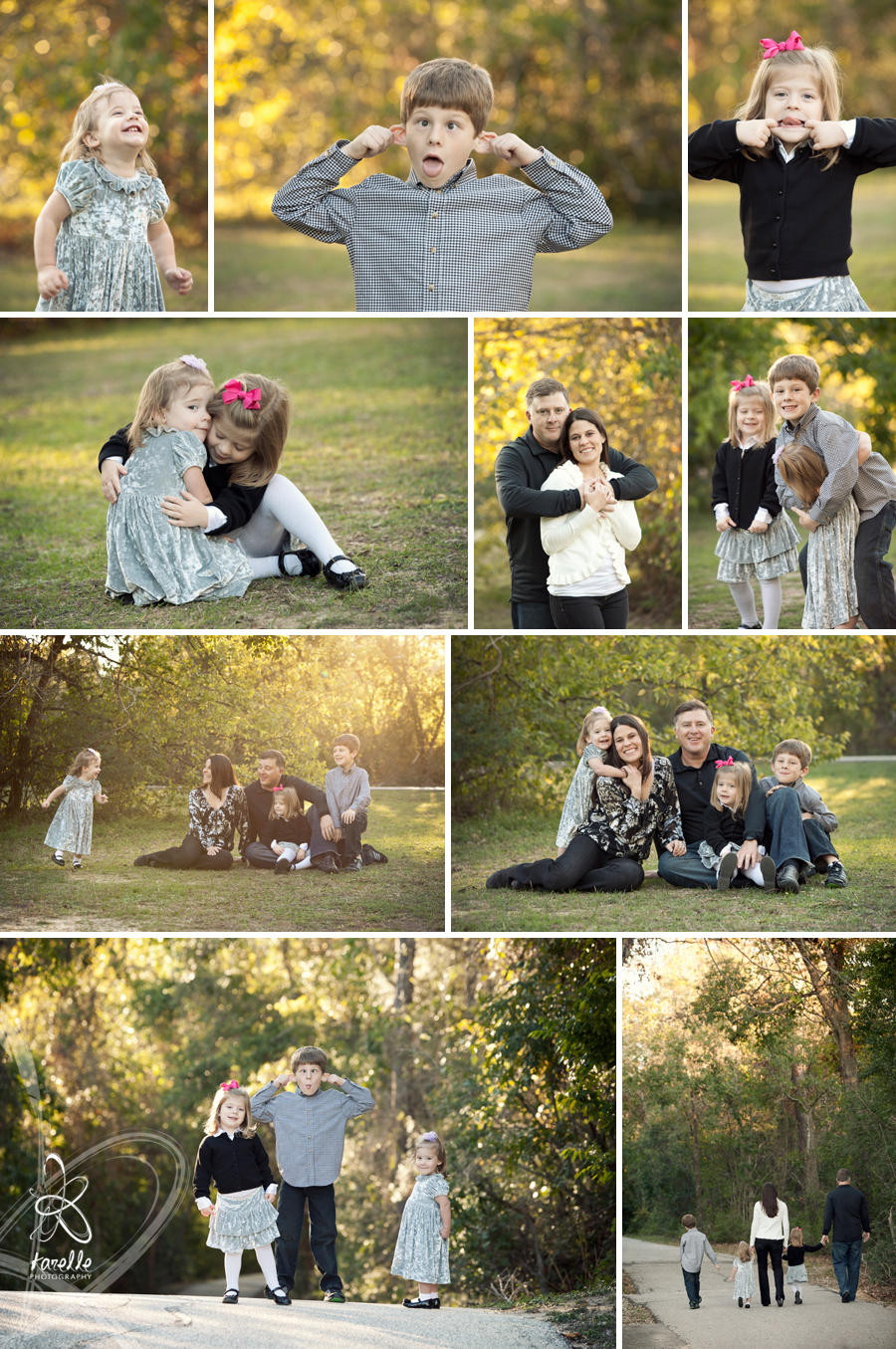 A portrait session in Houston for the Chambers family