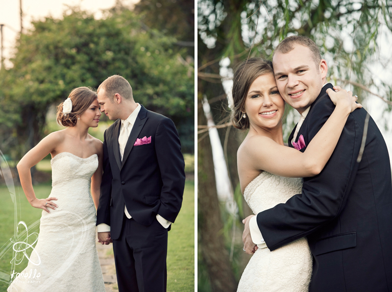 A wedding in Brenham, Texas for Sarah and Nathan at the Antique Rose Emporium by Karelle Photography 12