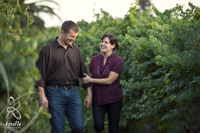 20 year anniversary in Napa Valley, California, photography session