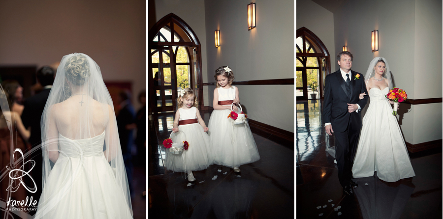 The Woodlands wedding photography - Grace Church ceremony