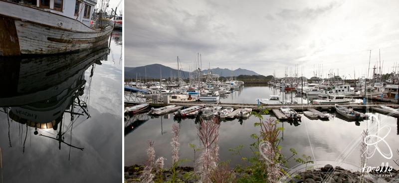 the harbor in Sitka Alaska houston photographer