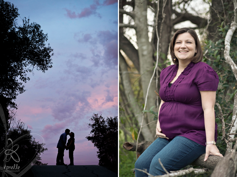 Houston maternity session with the Blackwells