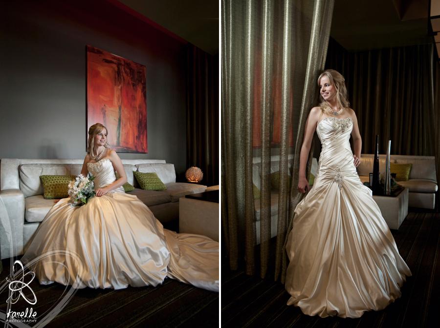 at the Hyatt Hotel at Market Street The Woodlands bridal